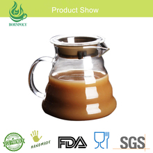 Eco-Friendly Feature personalized pyrex glass drip coffee pot