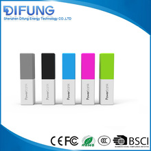 China manufacturer best quality square moblie slim 2000mah 2600mah power bank