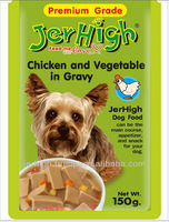 Jerhigh Premium in Gravy Healthy Vegetable Chicken Pet Food