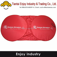 Private order Top quality Red Front Car Sunshade