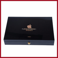 luxury wooden iphone 5 box for Dubai market