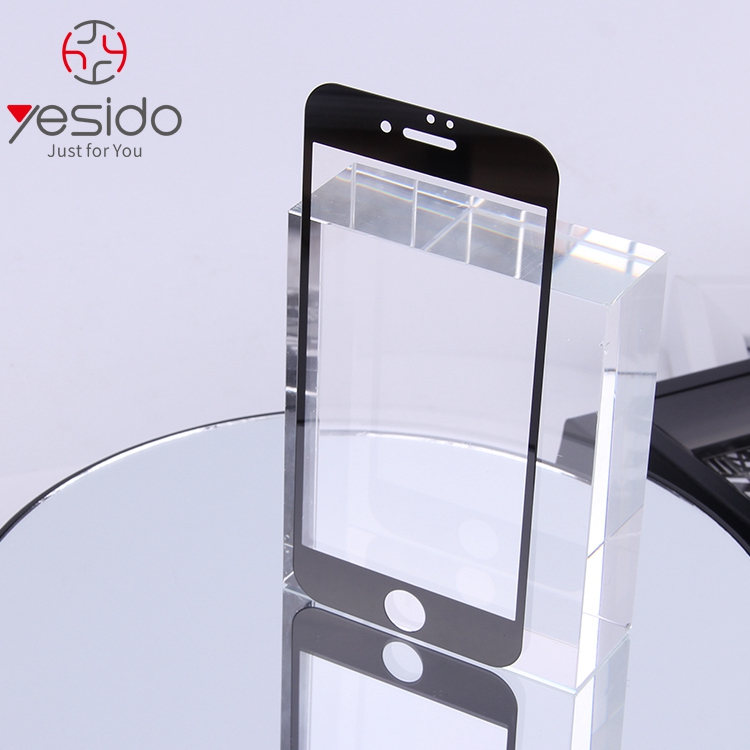 2.5D high quality Yesido Supplied 9H anti radiation tempered glass screen protector screen guard for iPhone7/8