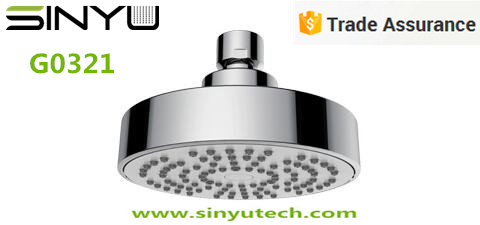 SINYU G0321 Round 110-- 1Jet ABS&Chrome Plated Rainfall Overhead Hand Shower Head