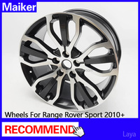 2016 new design 20 inch alloy wheels for Range Rover Sport 2010+ wheels rims from maiker