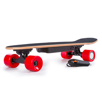 2017 The best-selling wireless control skateboard 4 wheels electric skateboard