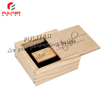 2017 Wooden cell phone flash box for usb drives