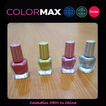 Promotional Customer Label Factory Supply Professional Matte Nail Polish