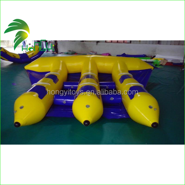 Latest Design Eco-Friendly PVC 8 Person PVC Inflatable Boat