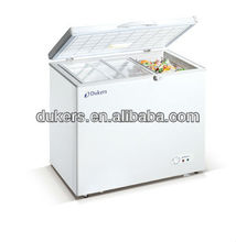 300L top open single door deep freezer