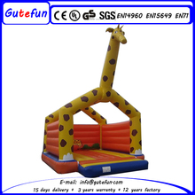 Outdoor kids moonwalk giraffe jumpy castle inflatable
