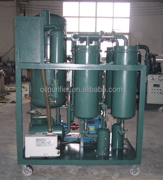 Turbine oil filtration/ oil recovery/ oil treatment/ oil reclaimation system TY
