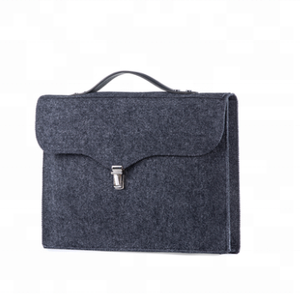 Wholesale custom fancy fancy felt laptop bag