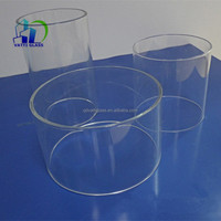 Borosilicate yellow quartz glass tubing for sale