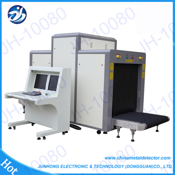 2017 New x-ray security luggage scanner manufacturer