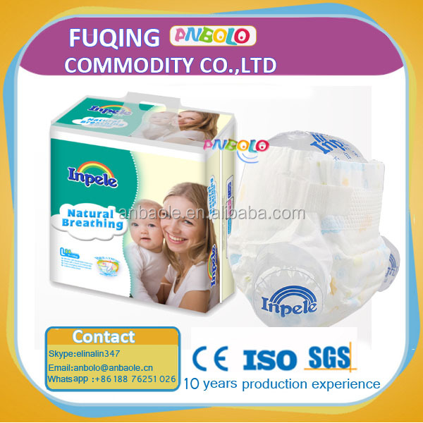 Super Soft OEM Brand Disposable Baby Diaper/OEM Baby Diaper Free Sample/Order Supplier Baby Diaper Importer