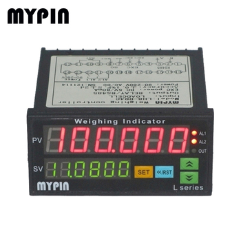 Mypin 6 digits LED high precision sensor process indicator and controller( DP6)
