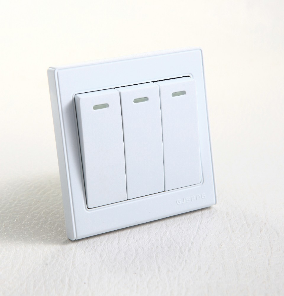 Wholesale 3 Way Switch 220v Online Buy Best From Light Sale Hot White F6 Pc Material Strong3 Strong