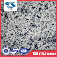 100%polyester different types of lining fabric cloth wholesale
