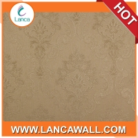Good sale interior decoration commercial flower vinyl wallpaper