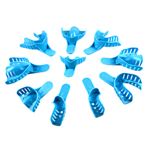 High quality Denture Instrument Disposable Plastic dental surgical Impression mouth Trays