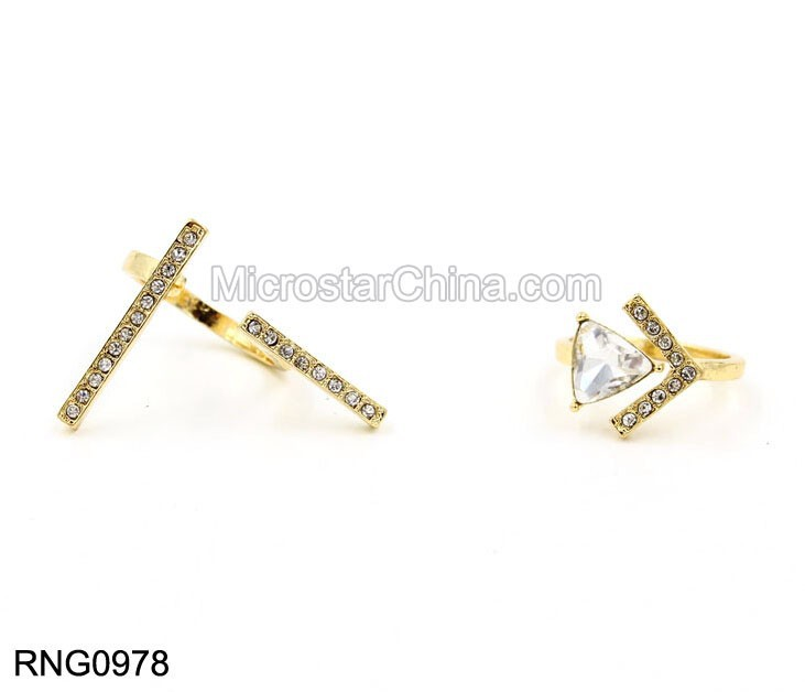 New Hot Selling Diamond Set Ring