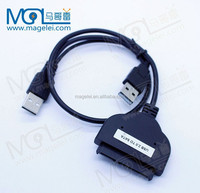"SATA 22P to USB 2.0 Adapter Cable For 2.5"" HDD Laptop Hard Drive"