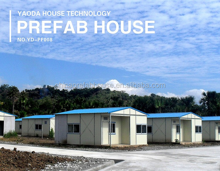 one floor prefab house suppliers china