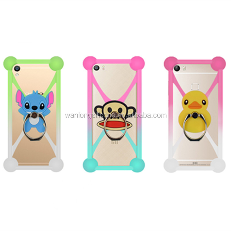 Wholesale 3D silicone color changing cell phone case