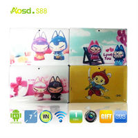 New Kids Tablet PC- tablet pc themes RK3026 Dual Core Dual Camera Hello Kitty Tablet PC