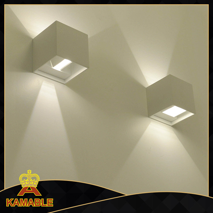 LED fancy bedroom wall reading lights