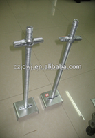 Building materials scaffolding adjustable u head base jack