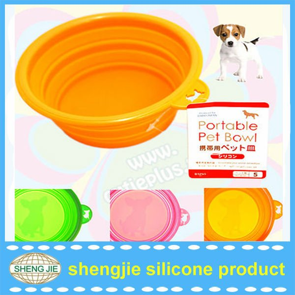 tekeway food grade silicone dog food plastic container