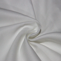 Wholesale TC Twill Bleached Cotton White Fabric Roll