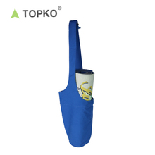 TOPKO Factory Supply Private Label Cotton Canvas Yoga Mat Bag