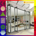 Customized commercial aluminium bifold doors comply with AS2407