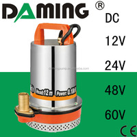 12v 24v 48v 60v small hydraulic motor pump dc submersible water pump