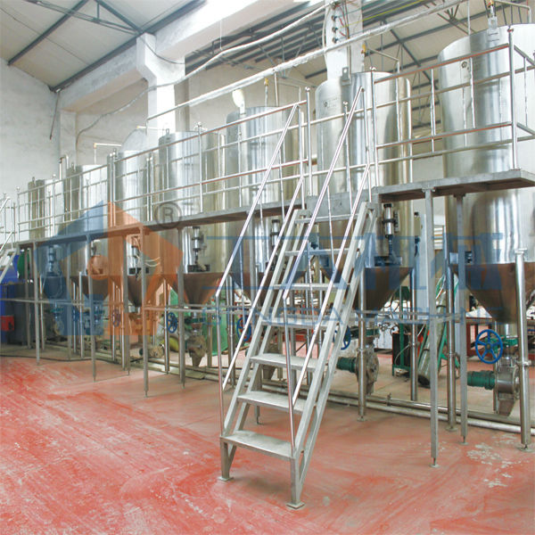 malt production line