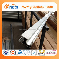 easy installation strong solar panel mounting rails made in china alibaba