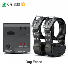 Dog fence electronic rechargebale in-ground wireless pet dog fence system
