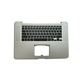C Cover Palmrest for Macbook Pro 15.4'' A1286 Keyboard Top Case With US keyboard