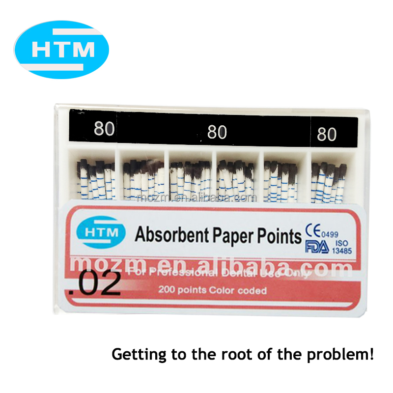 Names Dental Surgery Instruments Absorbent Paper Points