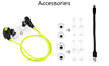 Consumer Electronics Headset Retractable Earphone With