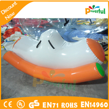 Swimming Pool Game Inflatable Floating Seesaw Totter