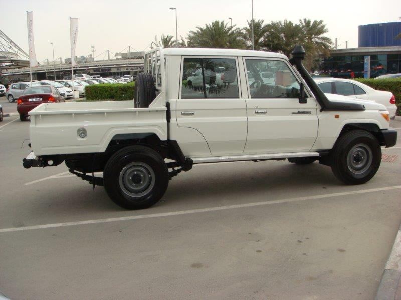 NEW CARS TOYOTA LANDCRUISER DOUBLE CABIN DIESEL PICKUP FROM DUBAI