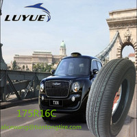 ECE certificates made in China taxi tyre 175r16c for UK market