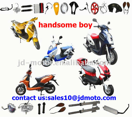 Chinese handsome boy scooter parts