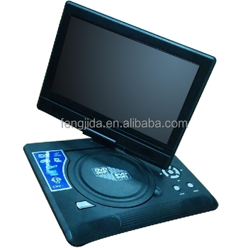 9 inch portable TV USB DVD player