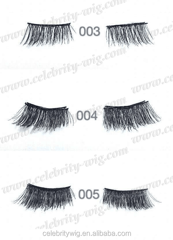 Own Brand/OEM/Private Label Wholesale Synthetic 3D Magnetic Eyelash