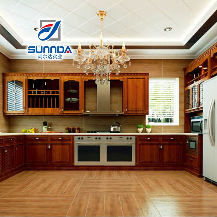 First Choice cheap price 600X600 nonslip waterproof Ancient Design Wood Grain Floor Tiles