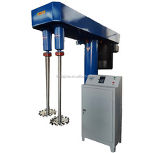 KEDA brand gloss paint dual-shaft hydraulic disperser ,double shaft dispersing machine ,dissolver